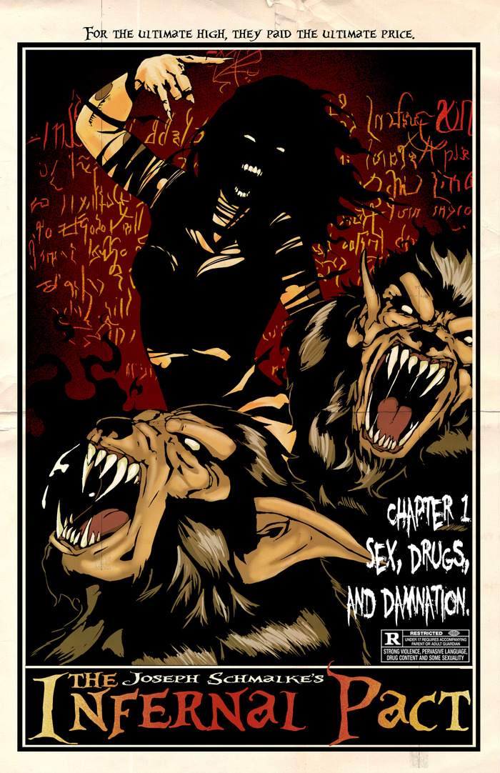 Issue #1 of the Infernal Pact cover
