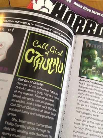 HorrorHound Magazine Review.