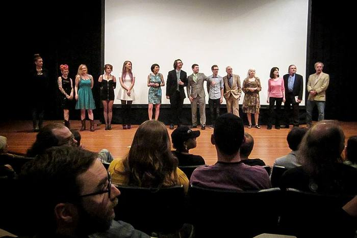 """Maryland Film Festival Q & A with members of the """"Call Girl of Cthulhu"""" cast and crew."""