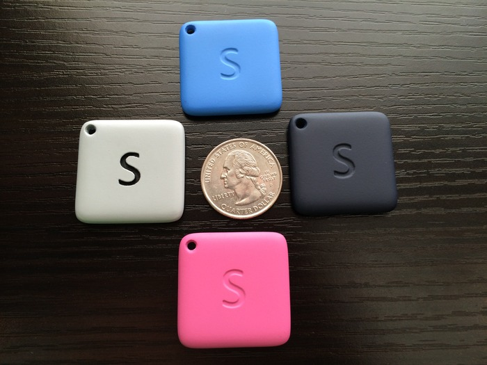 At about 30mm, StoneTether is almost as small as a quarter!