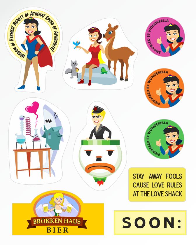 UPGRADED Sticker Fun Pak!