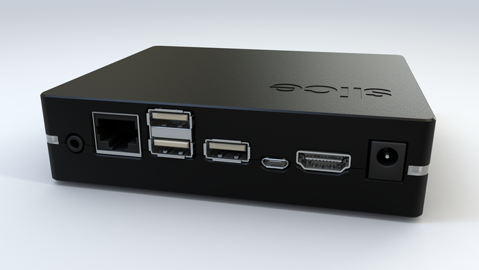 The new smaller design with 3x USB ports!