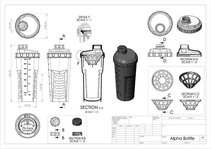 Alpha Bottle by Mark Marzouk — Kickstarter