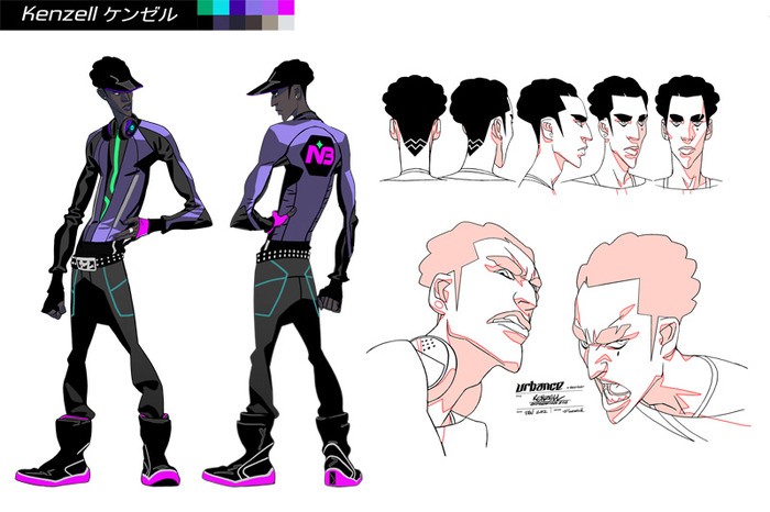 Character Design Kickstarter : Urbance sex kills soon in d dystopian future by
