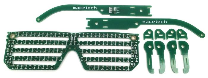 PCB puzzle hinge parts
