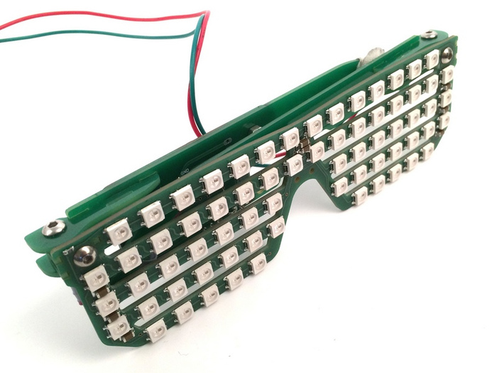 RGB LED Shades prototype