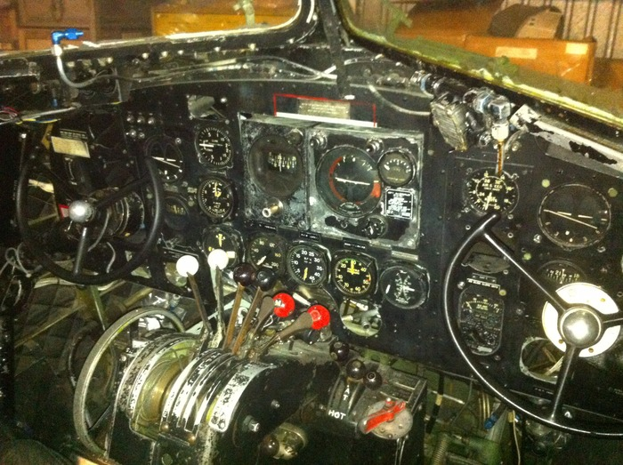 Dakota cockpit