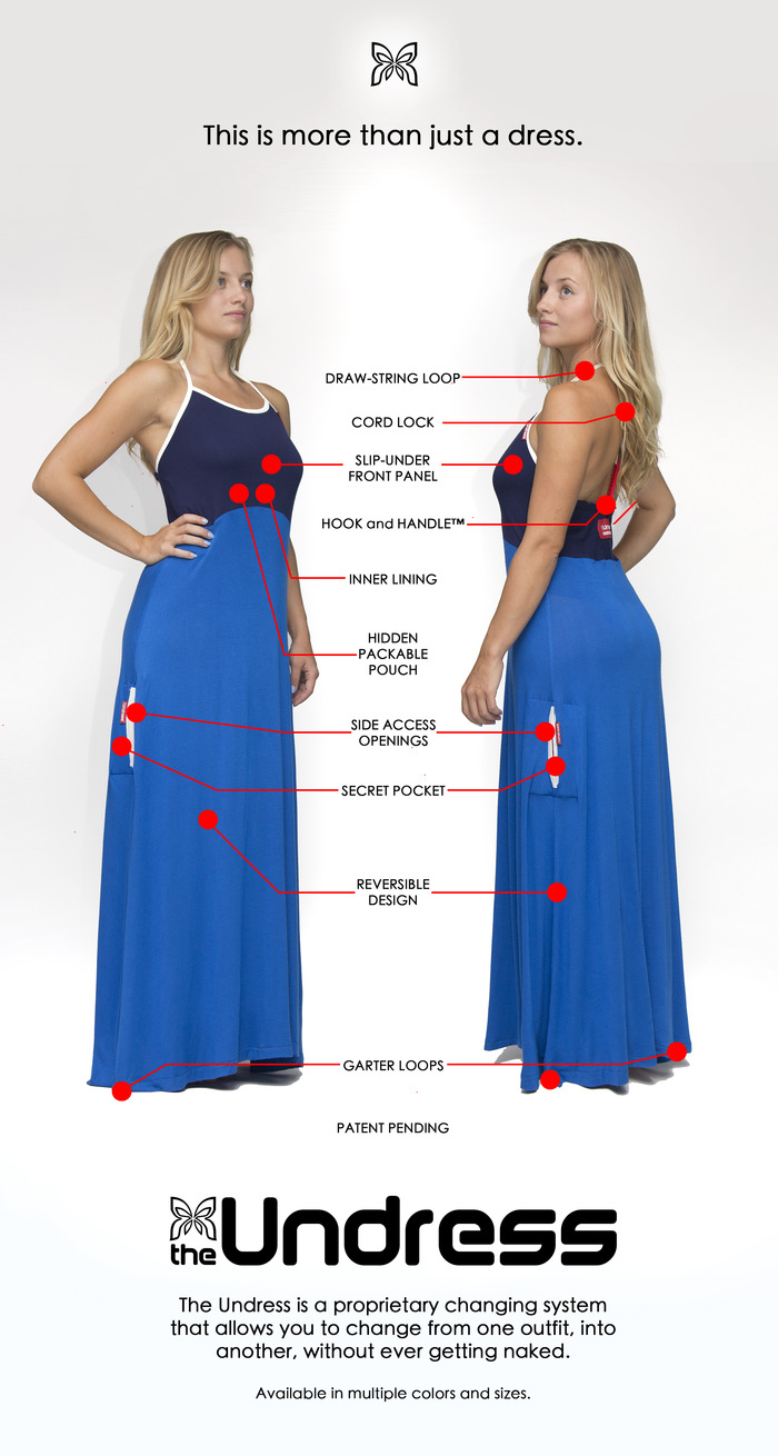 The Undress- Change clothes in public without getting naked! by The Undress, inc. â Kickstarter