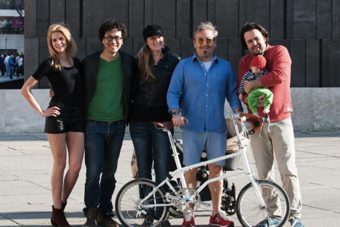 Part of the VELLO bike team