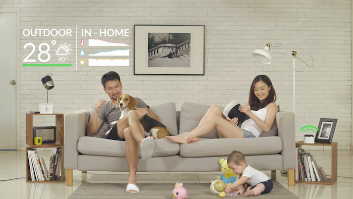 Ambi Climate is also able to balance the individual temperature preferences of your family.