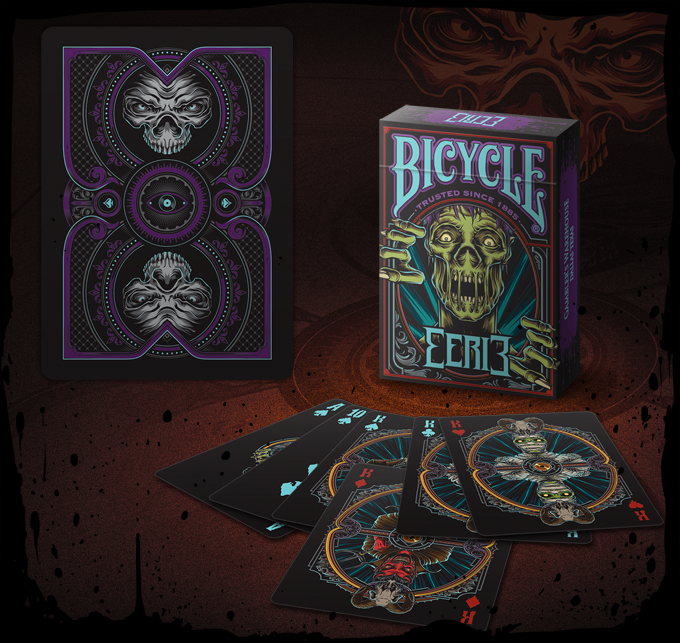 Bicycle Eerie Limited Edition PURPLE Deck (only 1500 to be printed!)