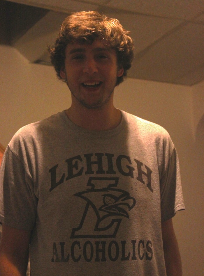 Lehigh lafayette 150 anniversary shirt and koozie by for Shirts and apparel koozie
