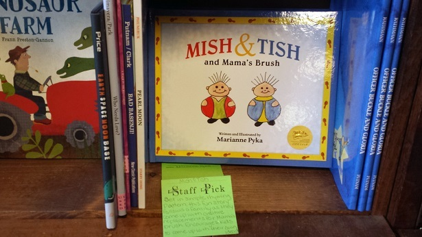 """Mish & Tish and Mama's Brush"" staff pick at a beloved Colorado book store."