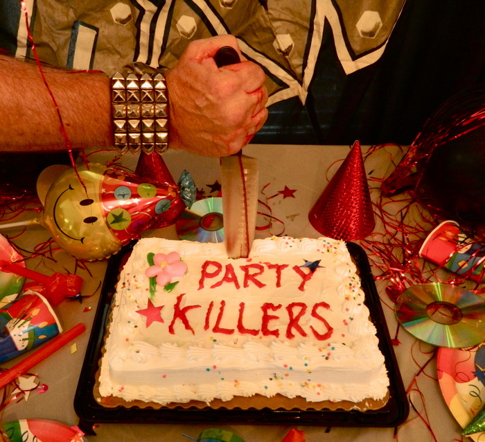 RAVEN - 'Party Killers' Kickstarter album cover