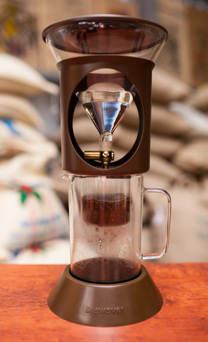 Brewover Cold Brew Coffee Amp Control Flow Pour Over System
