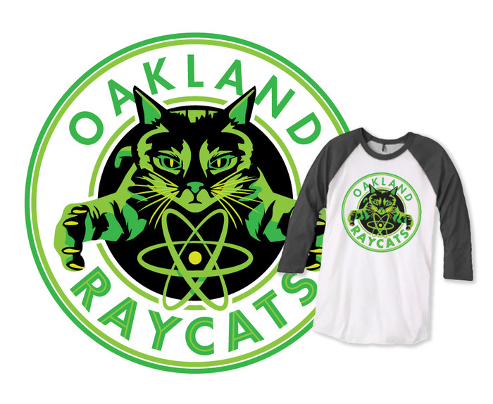 "99pi ""Oakland Ray Cats"" t-shirt"