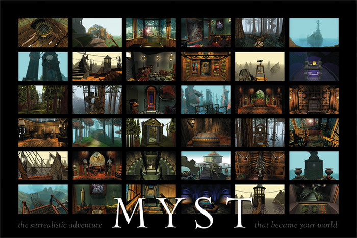 20th anniversary Myst Poster
