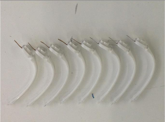 Production quality hytrel Pz arms