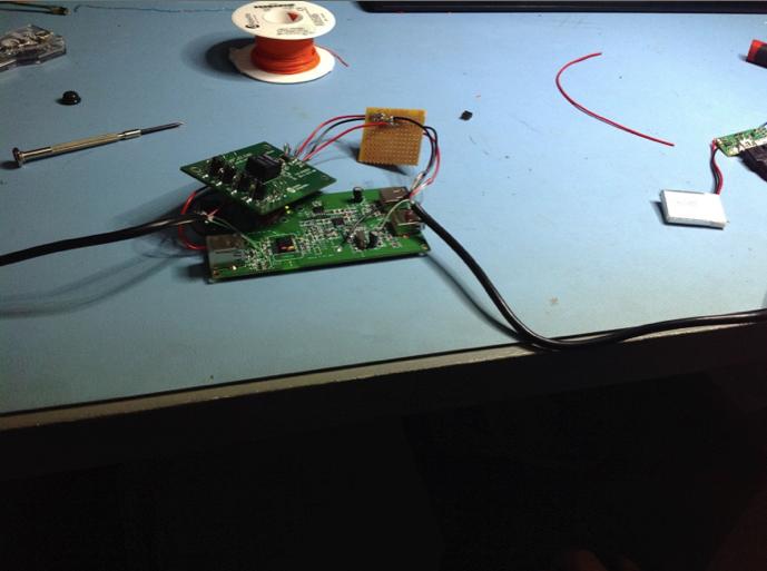 Extender electronics