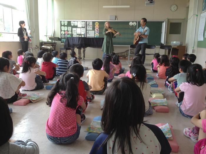With Nakahara-san's class