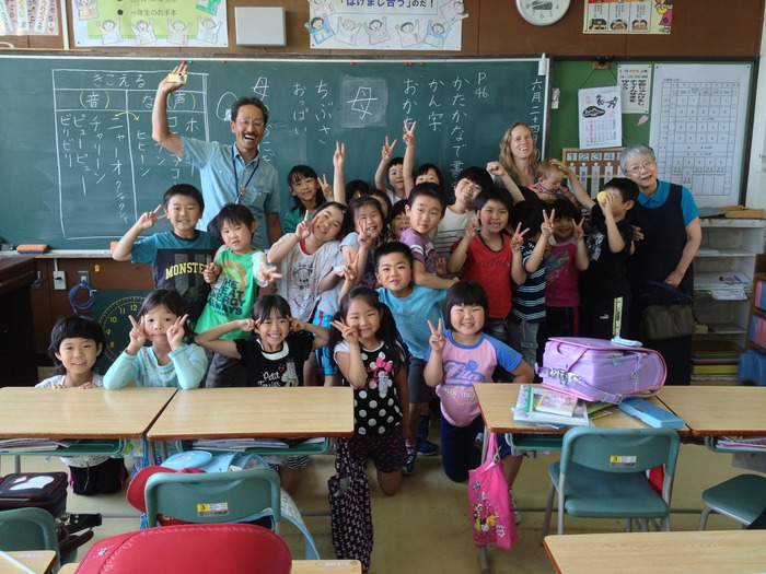 Nakahara-san's classroom, 2nd grade