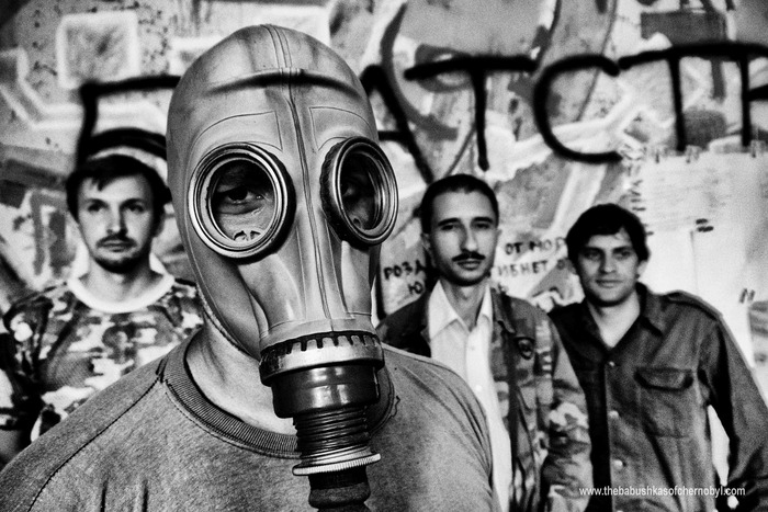 'Stalkers' who sneak into the Chernobyl Zone - for fun.