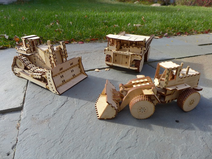 Heartwood Toys: Laser Cut Wooden Construction Toys by ...