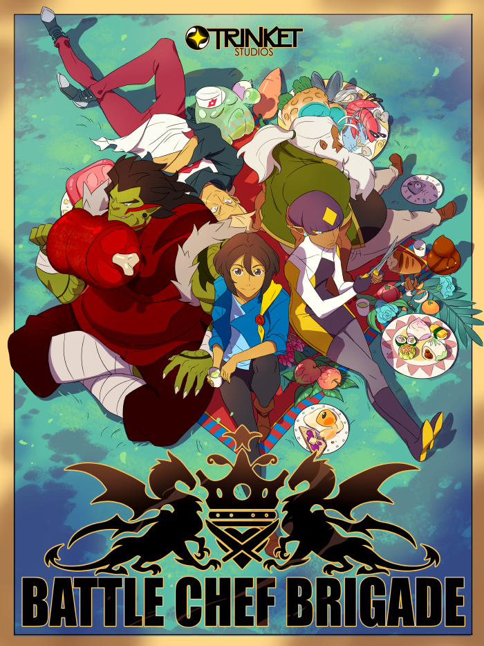 Battle Chef Brigade campaign ends and more than double expected funding