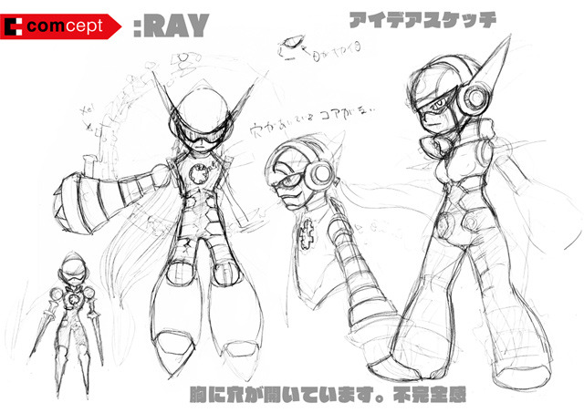 """RAY"" is our working name for Beck's rival. Anyone know if that means anything in Japanese…? :)"