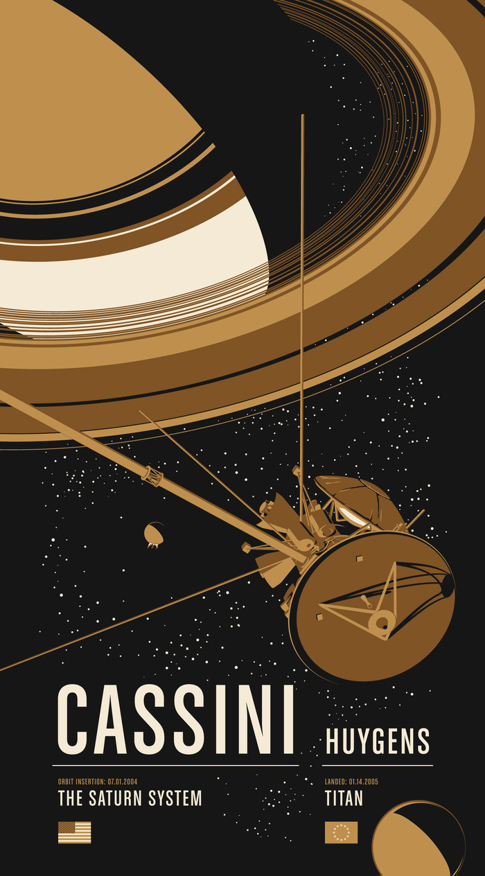 Historic Robotic Spacecraft Poster Series by Chop Shop ...