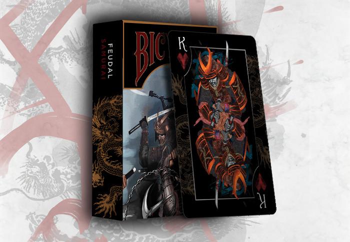 Feudal Ninja And Samurai Uspcc Bicycle 174 Playing Cards By