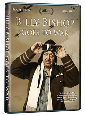 billy bishop goes to war Directed by barbara willis sweete with john gray, eric peterson pajama-clad and elderly, wwi flying ace billy bishop wanders around his relic-filled attic reminiscing about his battle.
