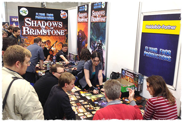 Our Demo Area at the Essen Game Fair