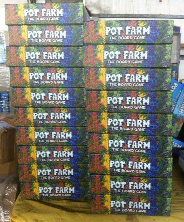 Pot Farm Board Game