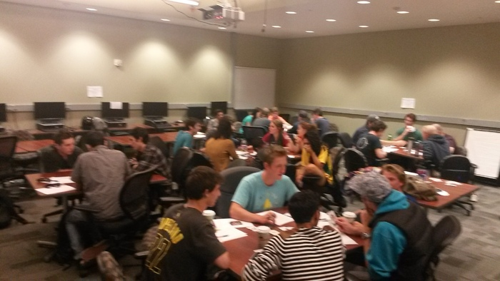 BI Students Playtesting RoarStack in Ideation or problem-solving mode