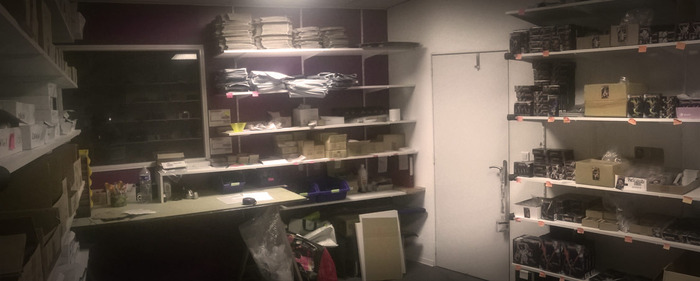We've just doubled the size of our packing/shipping room to accommodate the upcoming TGG models.