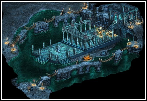Gog Temple in the Sea Caves