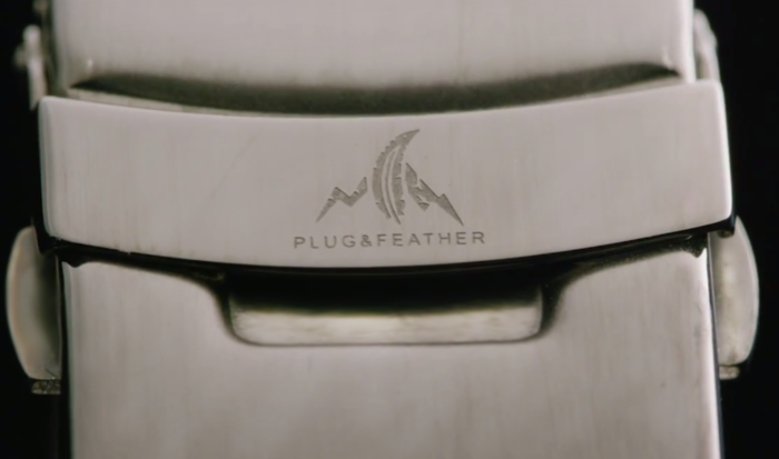 Plug And Feather : Plug feather stone face watches by