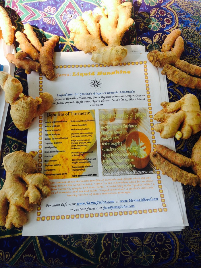 Sharing the Health Benefits of Turmeric and Ginger