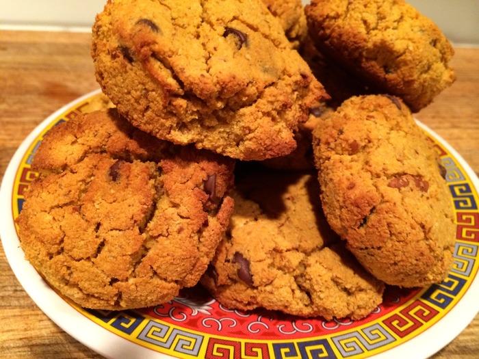Pumpkin Chai Chocolate Chip Cookies