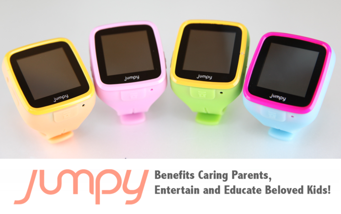 Jumpy, The World First Edutainment Smartwatch For Kids by ...