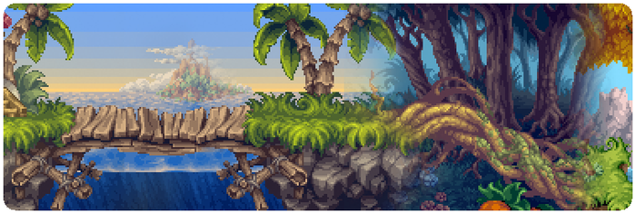 Some of Henk's pixel work