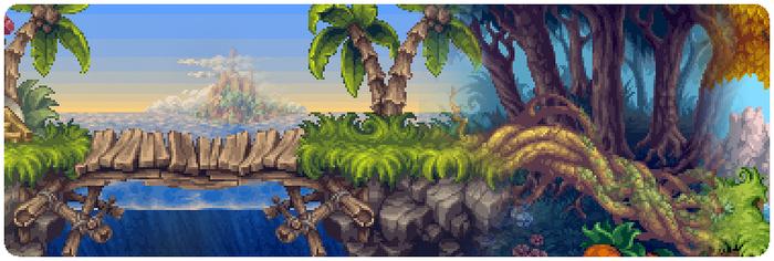 Some of Henk's pixel work