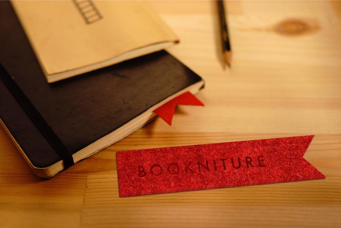 BOOKNITURE laser engraved bookmark for premium rewards