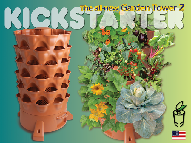Garden Tower 2 Available Now on Kickstarter