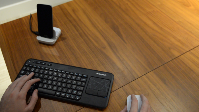 Wireless Keyboard and Bluetooth Mouse