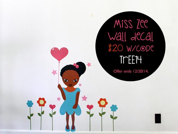 Miss Zee Wall Decals