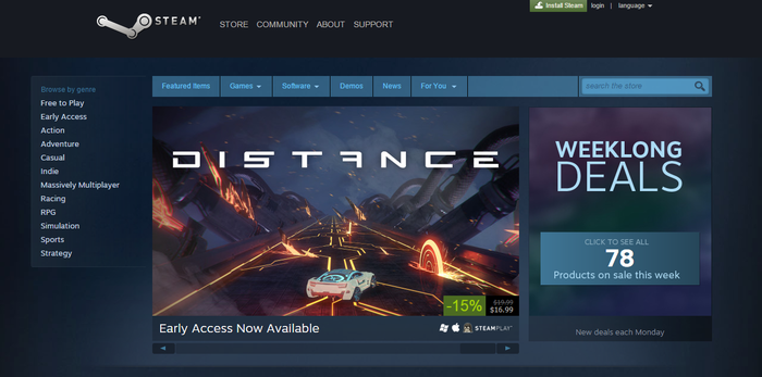 Distance :: Distance is now on Steam! Reddit AMA, Twitch stream today