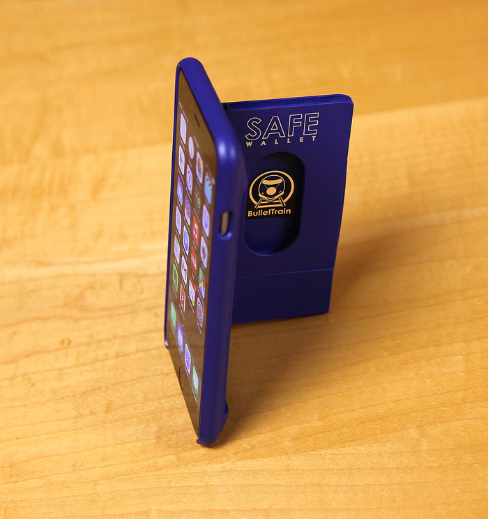 BulletTrain SAFE Wallet for iPhone 6 Plus In BulletTrain Blue