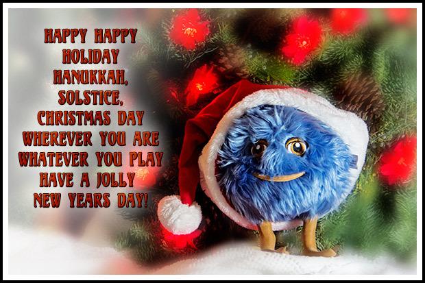 Happy Holidays from Hero-U